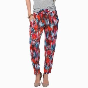 NWT Red Paint Away Pants